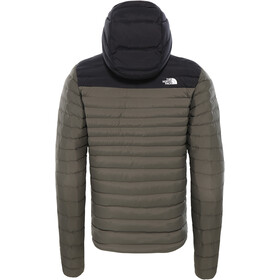 The North Face Stretch Down Hoodie Takki Miehet, new taupe green/tnf black